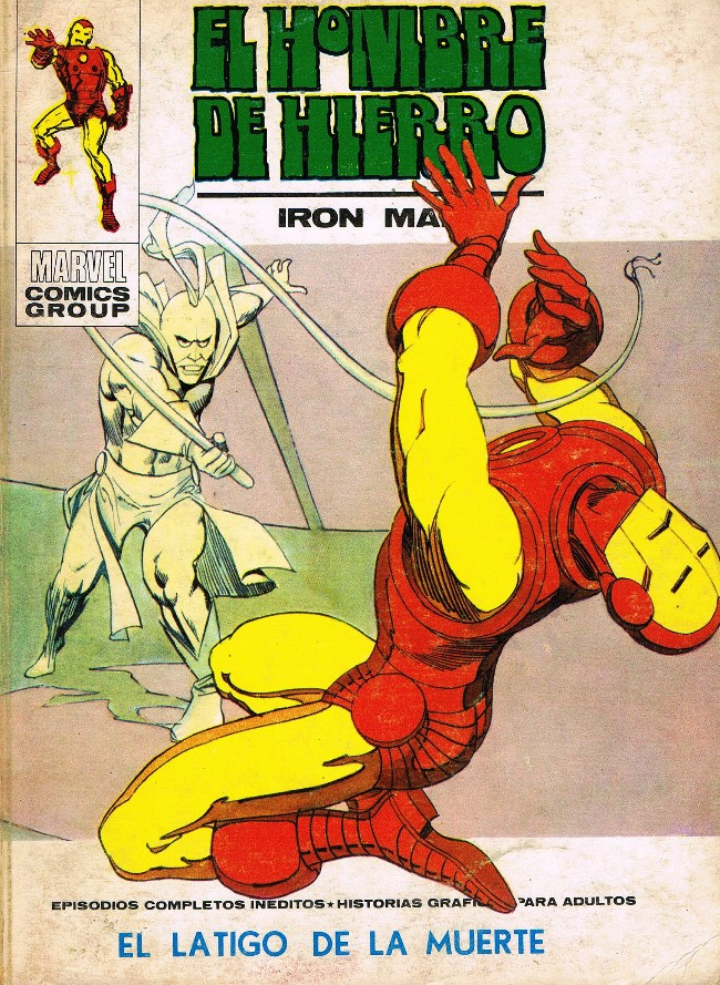 Couverture de Hombre de Hierro (El) (Iron Man) Vol. 1 -32- El latigo de la muerte