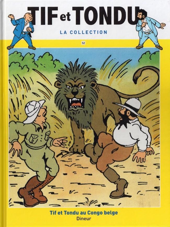 Couverture de Tif et Tondu - La collection (Hachette)  -52- Tif et Tondu au Congo belge