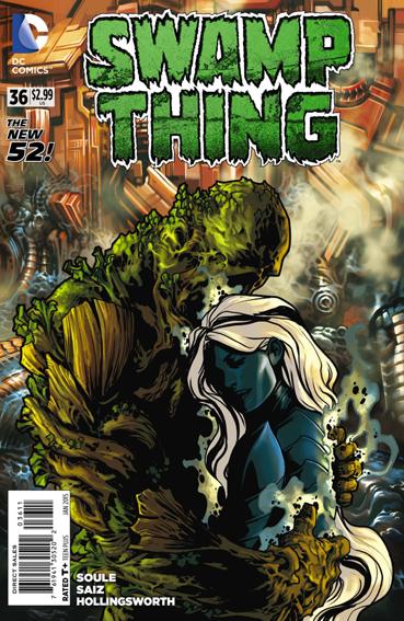 Couverture de Swamp Thing (2011) -36- Calibration