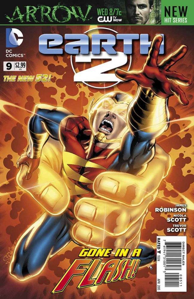 Couverture de Earth 2 (2012) -9- The Tower of Fate: prologue