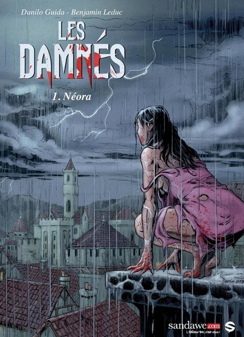 Couverture de Les damnés -1- Néora