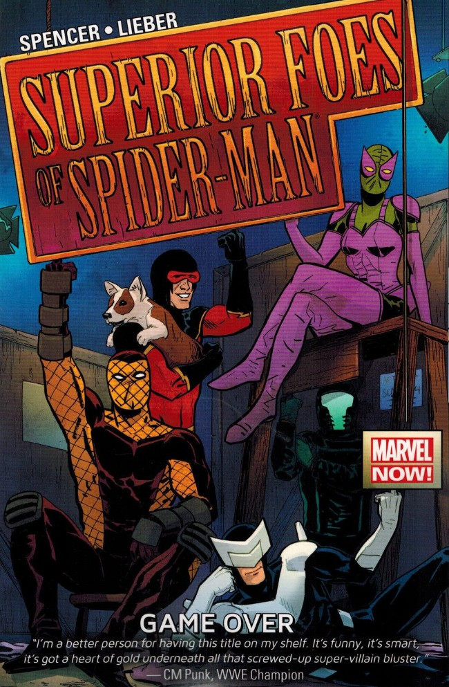 Couverture de Superior Foes of Spider-Man (The) (2013) -INT03- Game Over