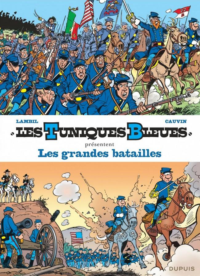 Couverture de Les tuniques Bleues présentent -1- Les grandes batailles