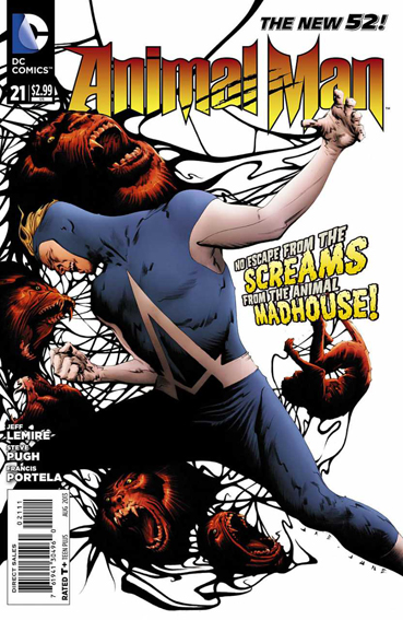 Couverture de Animal Man (2011) -21- Splinter Species