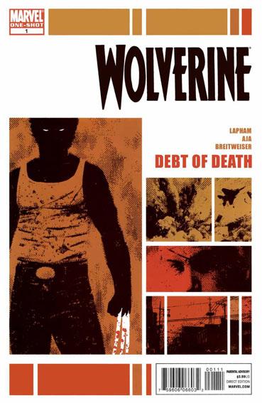 Couverture de Wolverine: Debt of Death (2011) -1- Wolverine: Debt of Death