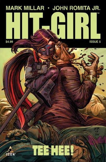 Couverture de Hit-Girl (2012) -5- Issue 5