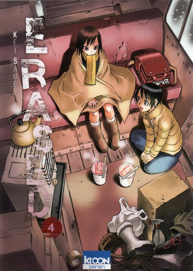 Couverture de Erased -4- Volume 4