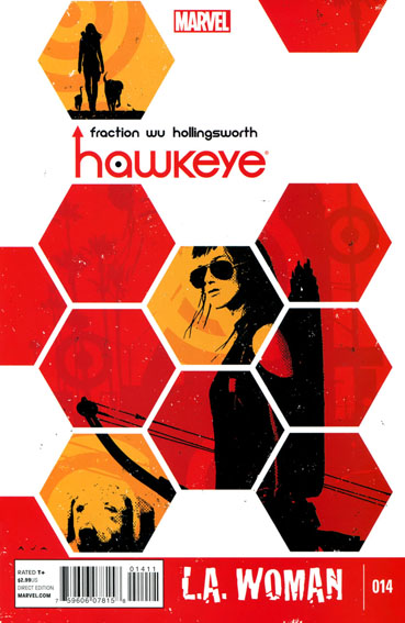 Couverture de Hawkeye (2012) -14- Untitled