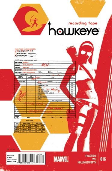 Couverture de Hawkeye (2012) -16- Untitled