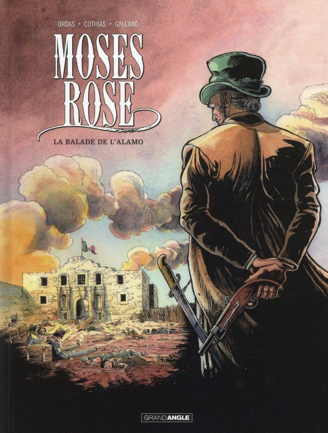 Couverture de Moses Rose -1- La balade de l'Alamo