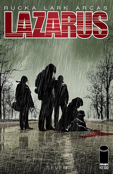 Couverture de Lazarus (2013) -7- Lift part three