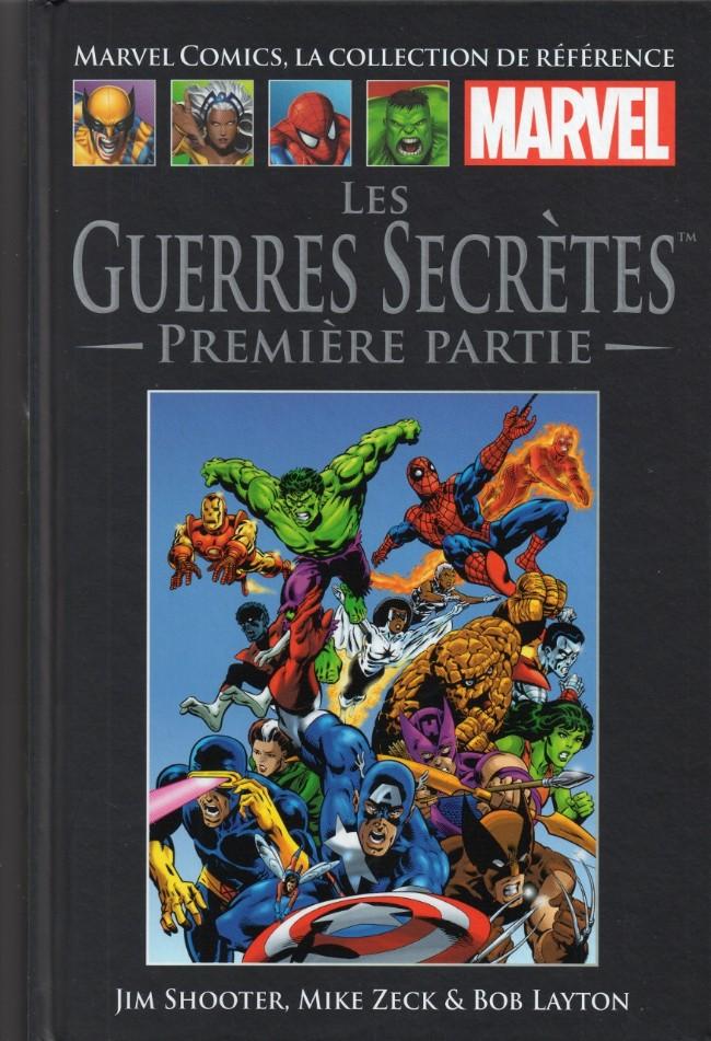 Couverture de Marvel Comics - La collection (Hachette) -277- Les Guerres Secrètes - Première partie