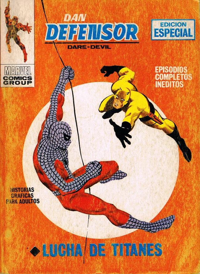 Couverture de Dan Defensor (Dare-Devil) -7- Lucha de titanes