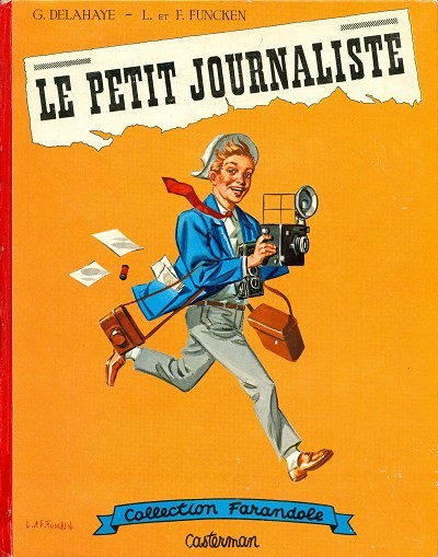 Couverture de (AUT) Funcken - Le petit journaliste