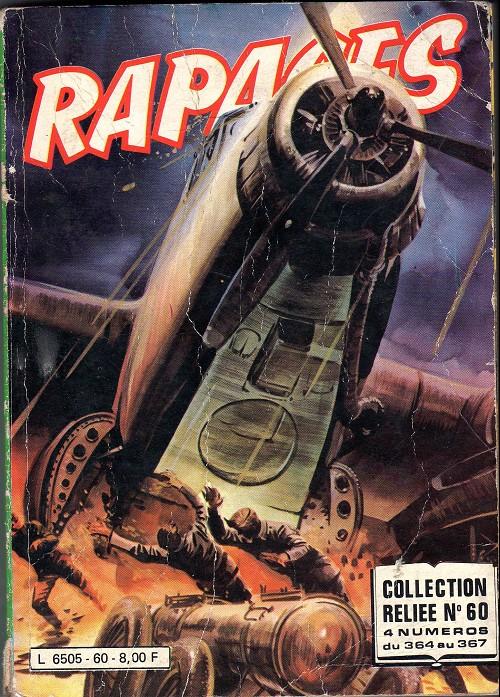 Couverture de Rapaces (Impéria) -Rec60- Collection reliée N°60 (du n°364 au n°367)