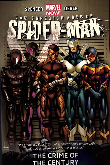Couverture de Superior Foes of Spider-Man (The) (2013) -INT02- The Crime of the Century