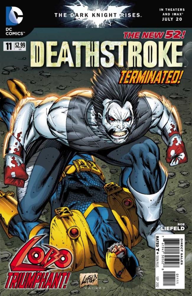 Couverture de Deathstroke (2011) -11- Showdown at Starpoint