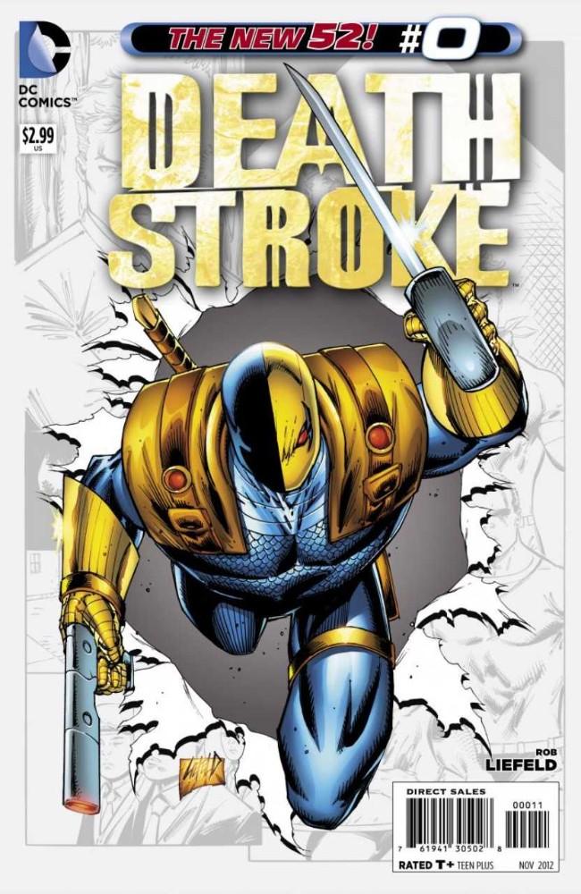 Couverture de Deathstroke (2011) -0- A Soldier's Story