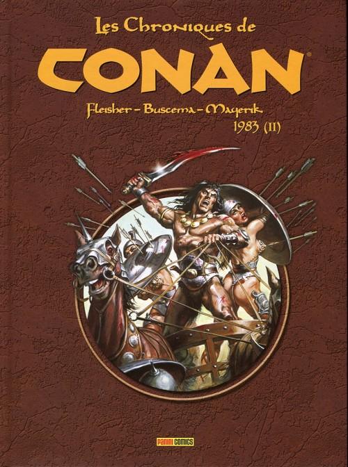 Couverture de Les chroniques de Conan -16- 1983 (II)