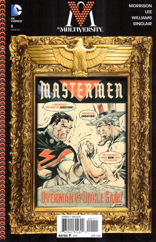 Couverture de The multiversity (2014) - Mastermen