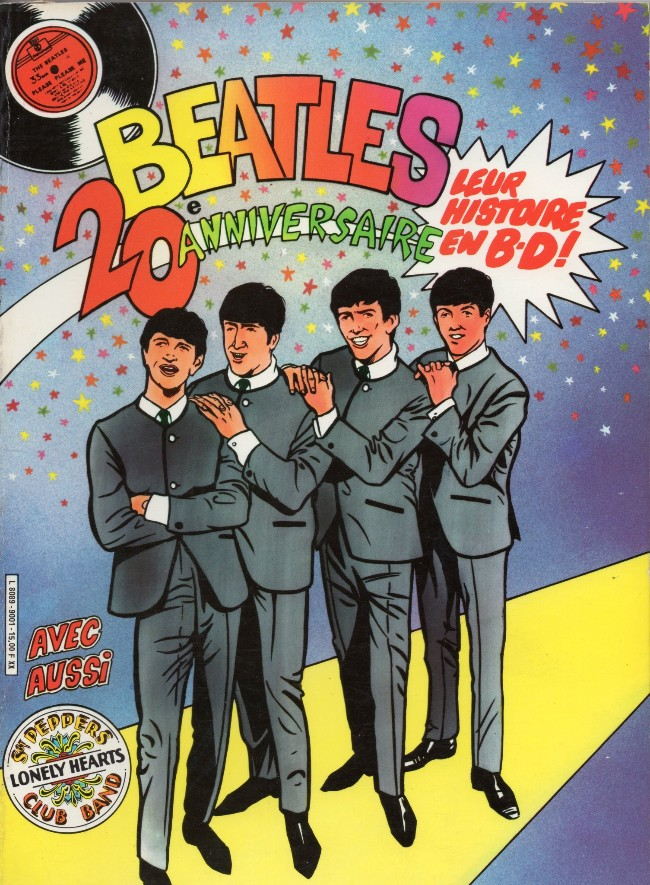 Couverture de Beatles (Arédit - Artima Color Marvel Géant) -INT- Beatles 20e anniversaire