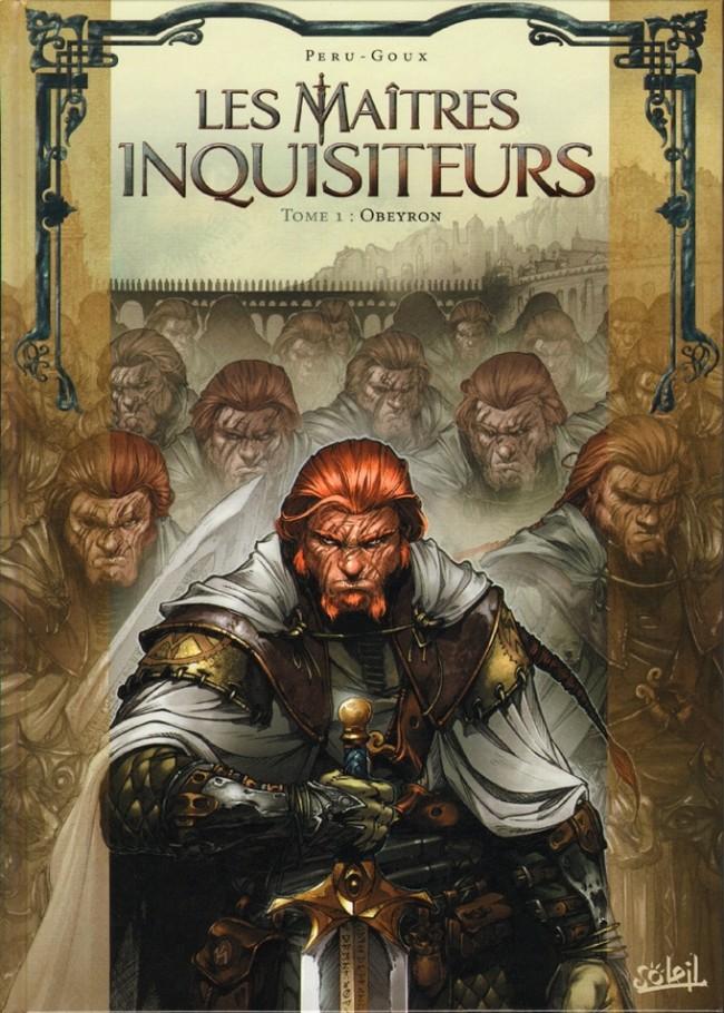 Couverture de Les maîtres Inquisiteurs -1- Obeyron