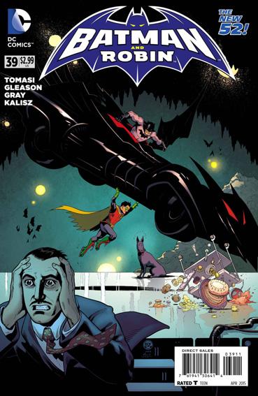 Couverture de Batman and Robin (2011) -39- Superpower - Boy Wonder