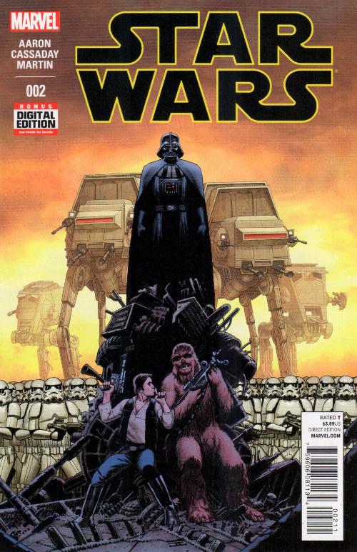 Couverture de Star Wars Vol.2 (Marvel comics - 2015) -2- Book I, Part II Skywalker Strikes