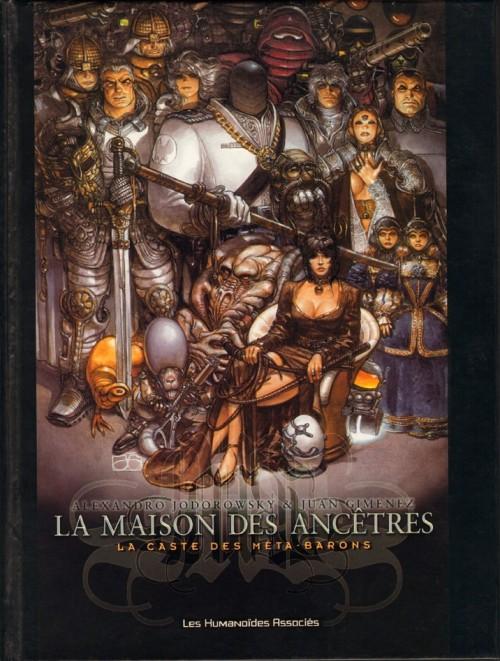 Couverture de La caste des Méta-Barons -HS1- La Maison des Ancêtres