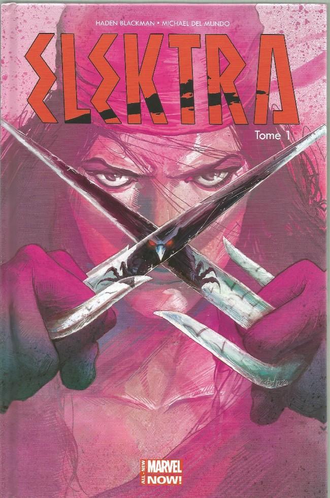 Couverture de Elektra (100% Marvel - 2015) -1- Le sang appelle le sang