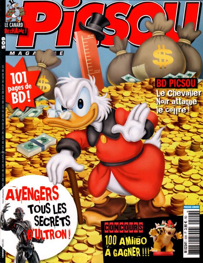 Couverture de Picsou Magazine -509- Picsou Magazine n° 509