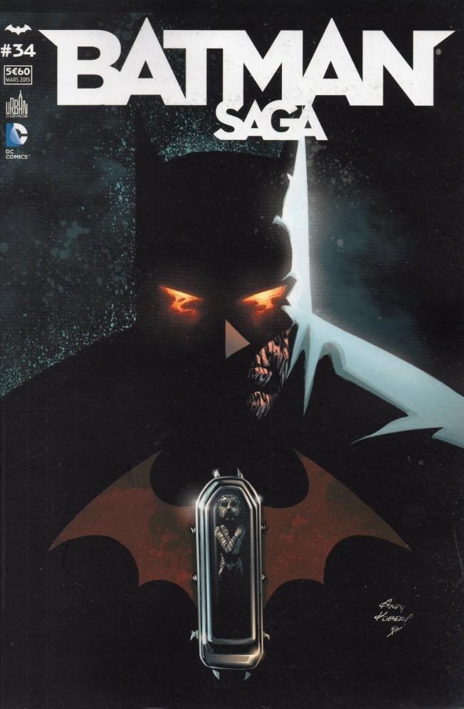 Couverture de Batman Saga -34- Numéro 34