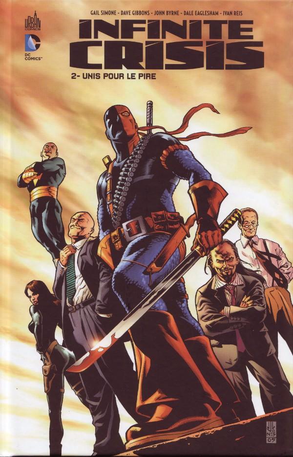 Couverture de Infinite Crisis (Urban Comics) -2- Unis pour le pire