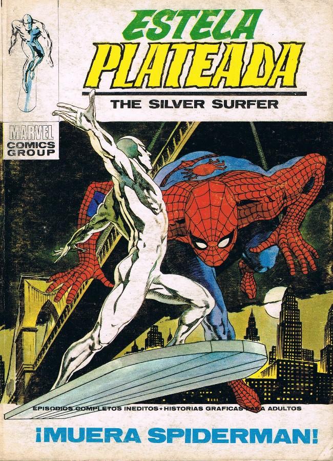 Couverture de Estela Plateada (The Silver Surfer) -11- ¡Muera Spiderman!