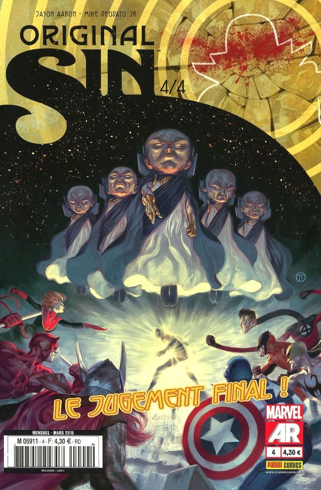 Couverture de Original Sin -4- Le jugement final !