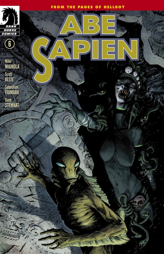 Couverture de Abe Sapien (2008) -16- The Shape of Things to Come (Part 1 of 2)