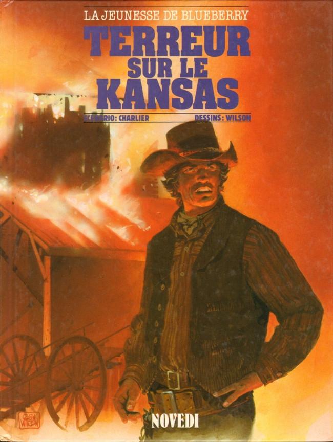 Couverture de Blueberry (La Jeunesse de) -5- Terreur sur le Kansas