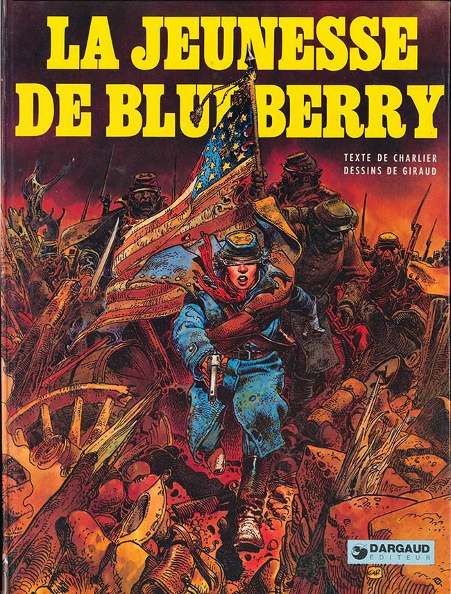 Couverture de Blueberry (La Jeunesse de) -1- La jeunesse de Blueberry