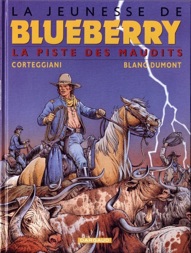 Couverture de Blueberry (La Jeunesse de) -11- La piste des maudits