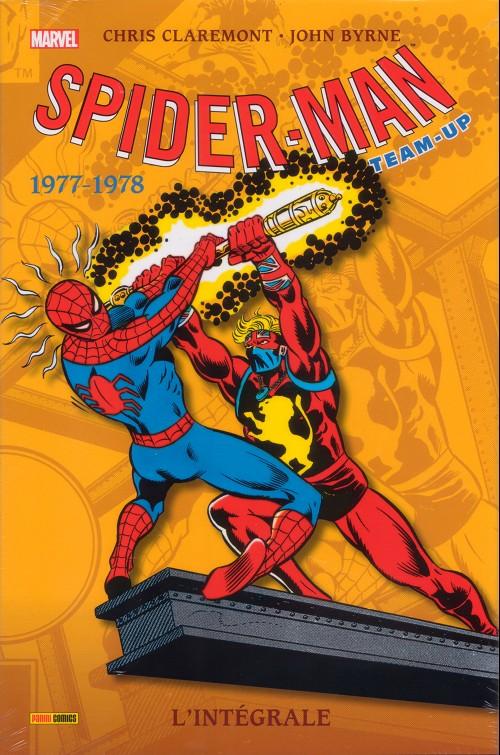 Couverture de Spider-Man Team-Up (L'Intégrale) -5INT- L'integrale 1977-1978