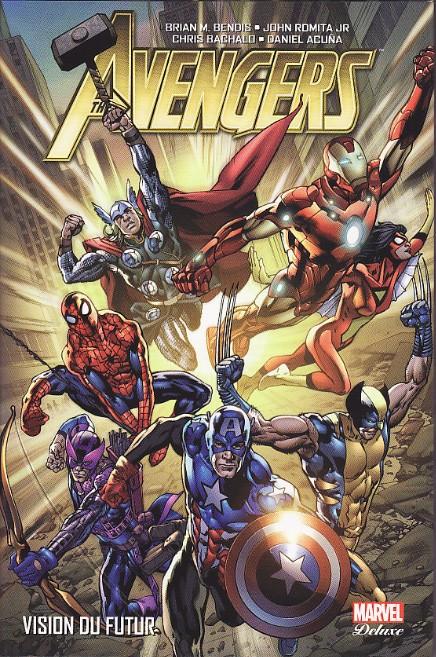 Couverture de Avengers (Marvel Deluxe) - Vision du futur