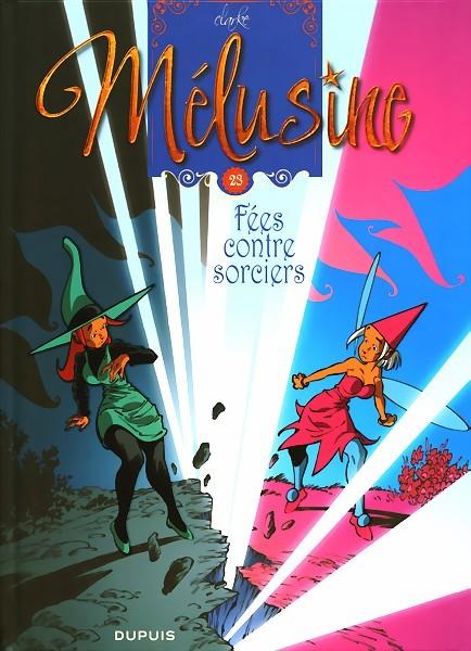 Couverture de Mélusine -23- Fées contre sorciers