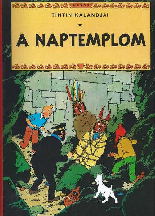 Couverture de Tintin (en langues étrangères) -14Hongrois- A naptemplom