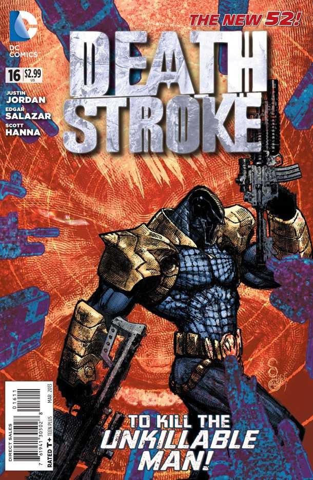 Couverture de Deathstroke (2011) -16- To Kill the Unkillable Man