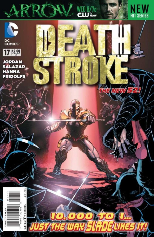 Couverture de Deathstroke (2011) -17- Trouble With Honor