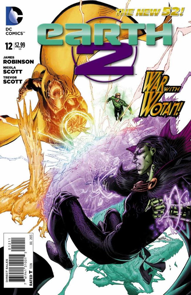 Couverture de Earth 2 (2012) -12- The Tower of Fate: Part Three