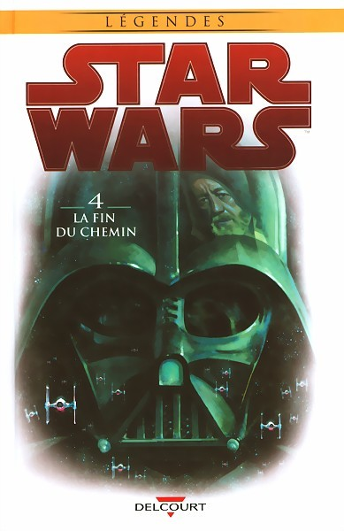 Couverture de Star Wars (Delcourt) -4- La fin du chemin