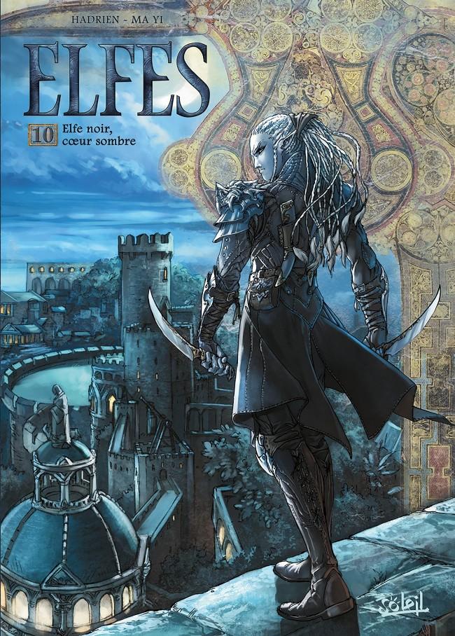 Couverture de Elfes -10- Elfe noir, cœur sombre