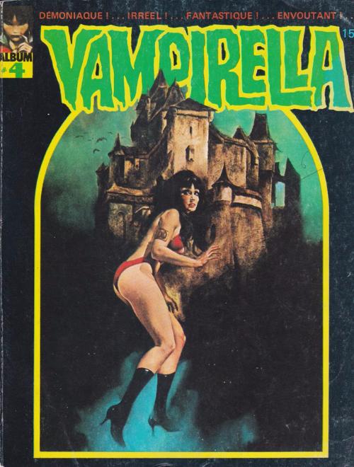 Couverture de Vampirella (Publicness) -Rec04- Album N°4 (du n°12 au n°16)