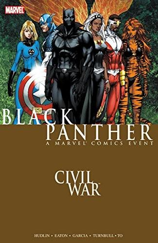 Couverture de Black Panther Vol.4 (Marvel - 2005) -INT04- Civil War: Black Panther